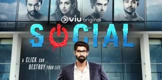 Rana web series Social poster