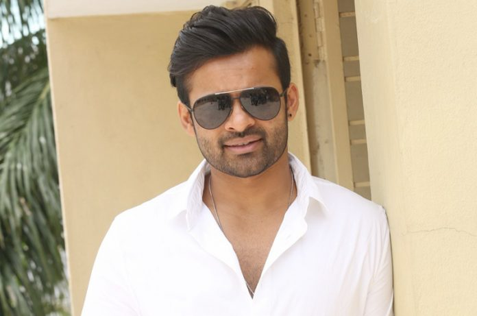 Sai dharam Tej's guest appearance in Raja The Great film