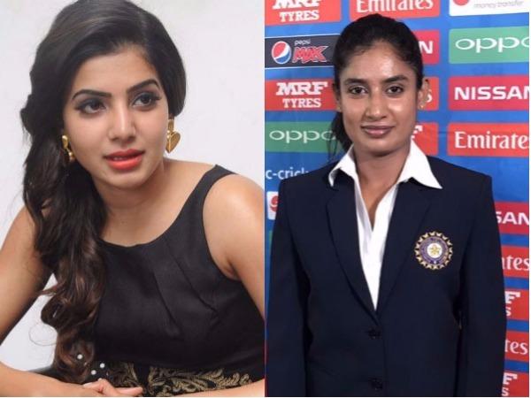 Samantha To Act In Mithali Raj Biopic Film
