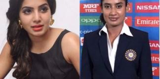 Tollywood Actress Samantha to act in Mithali Raj Biopic film