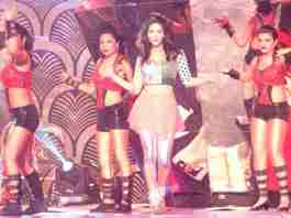 Sunny Leone performance at Pichi Reddy Birthday Bash in Hyderabad