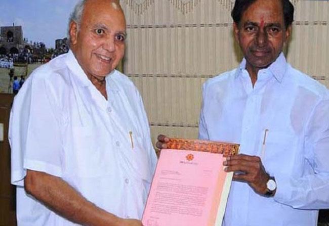 Ramoji Rao Letter To KCR