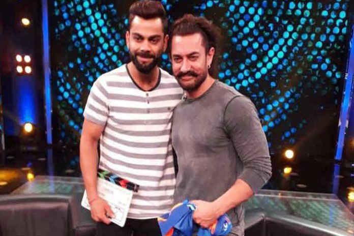 Aamir Khan and Virat Kohli in a Chat Show