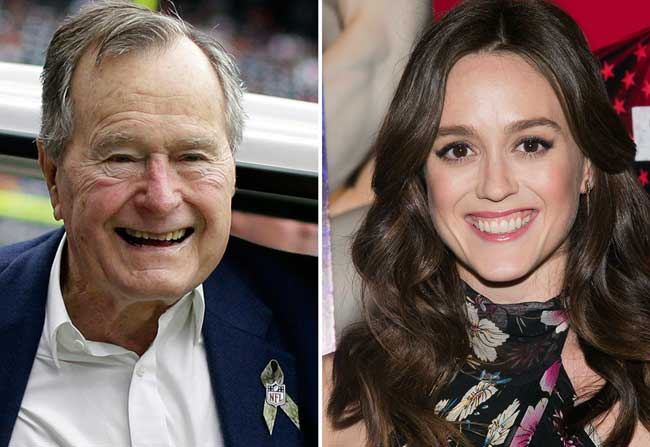 Actress accuses former US president of groping!
