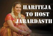 Hariteja to Host Jabardasth