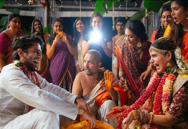 No Celebrities in Samantha Wedding