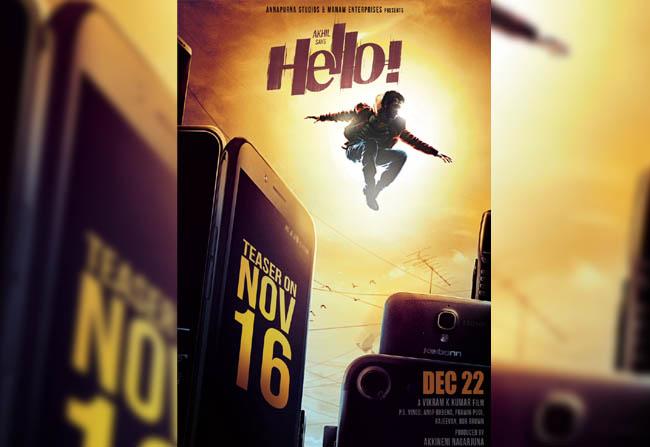 Akhil 'Hello' Movie Poster Outclasses Hollywood!