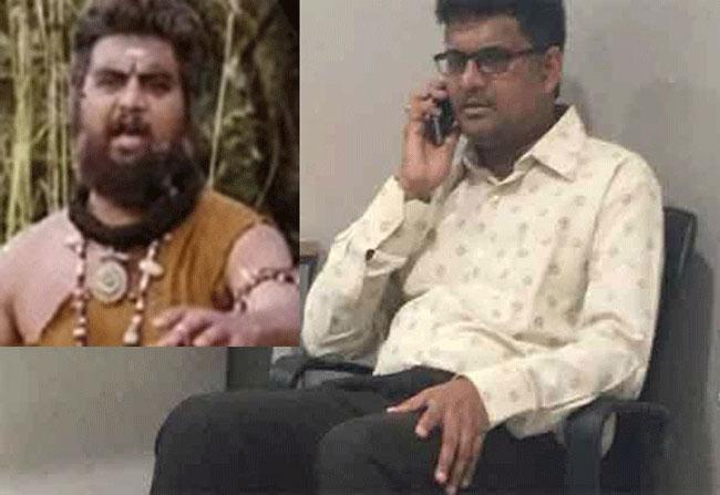 Baahubali's reel father arrested