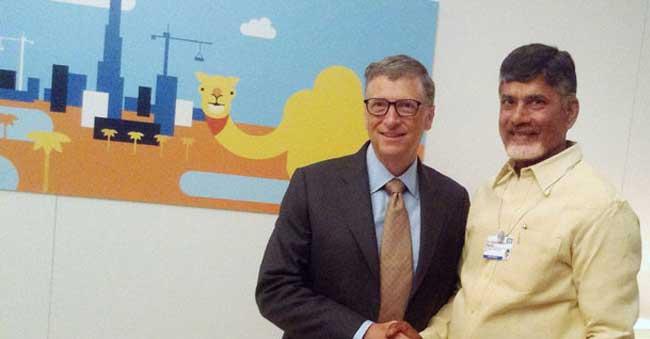 Chandrababu Naidu meets Bill Gates – Special Feature