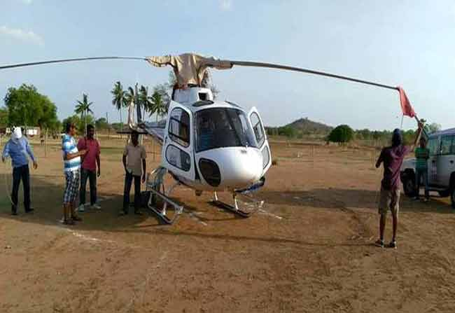 Every District will have a Helipad in TS
