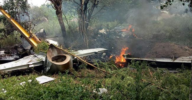 IAF Kiran aircraft with woman pilot crashes near Hyderabad