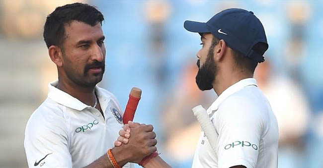 India vs Sri Lanka 2nd Test Day 2 Score 311 runs 1 wicket at Nagpur