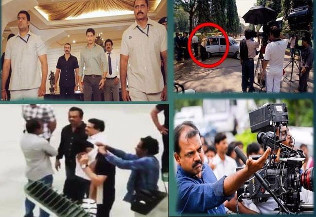 Movie Leak! Mahesh Babu involved in a Holi Fight!