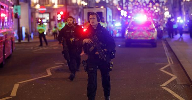 Reports of Gunshots, forced Oxford Circus Tube Station closed