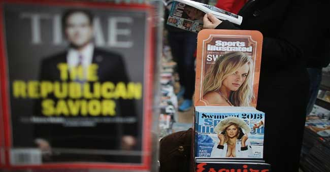 Time Inc. purchased by Meredith Corp., for 19,300 Crores