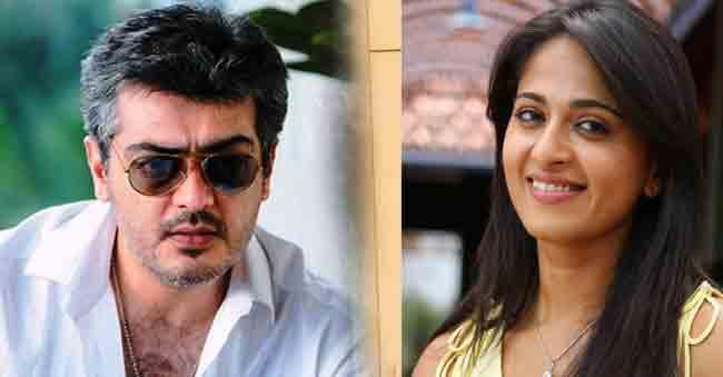 Anushka paired up with Ajith Kumar!