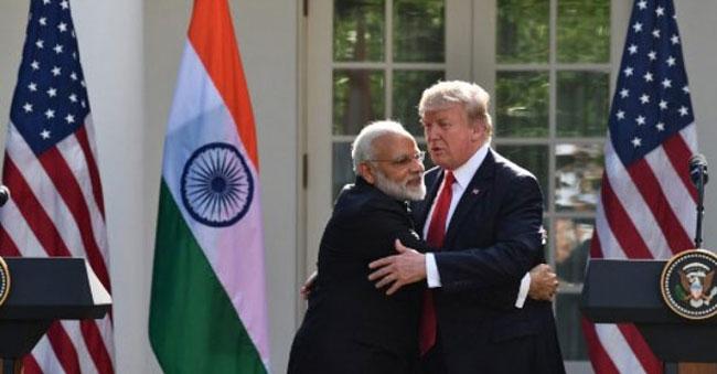 Donald Trump Honors India