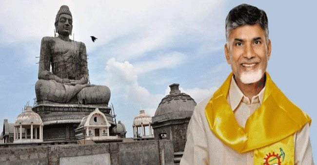 Is Chandrababu Naidu luring News Channels by giving lands in Amaravati?