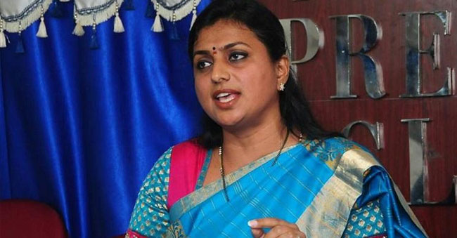 Is Roja competing for 'Best Political Comedian Award'?