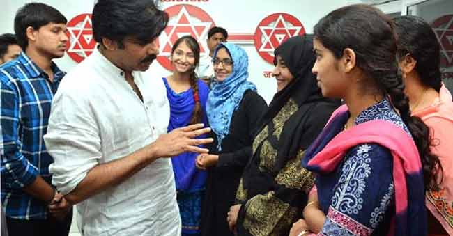 Jana Sena Chief thanked; is it a happy ending for Fathima College students?