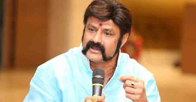 Who are those two eyes that Balayya is talking about?