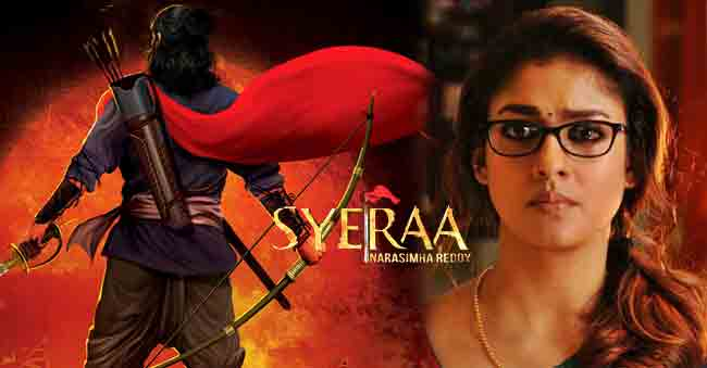 Is Nayantara IN or OUT of Sye Raa…?