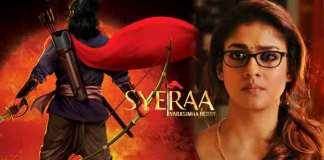 Nayanthara walked out of Sye Raa Movie