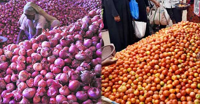 Onion and Tomato prices to come down in next 15 – 20 days!