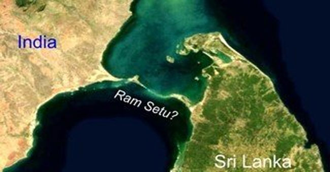 Ram Setu is man-made and does exist!