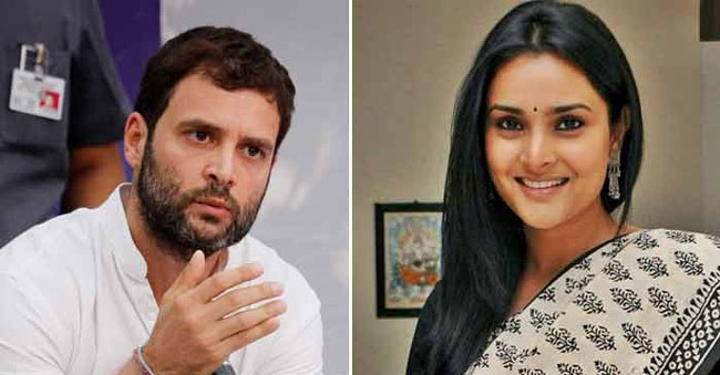 The heroine who changed the fate of Rahul Gandhi!