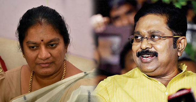 TTV Dinakaran shocked to see her at his home!