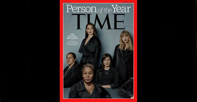 Times Person(s) of the year! – #MeToo Women!