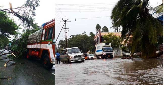 Cyclone Ockhi handicaps Tamil Nadu and Kerala