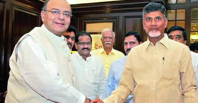 Call from Centre to the State! Is Babu happy?