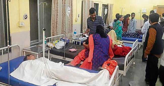 Carrot Halwa sends 100 people to Hospital