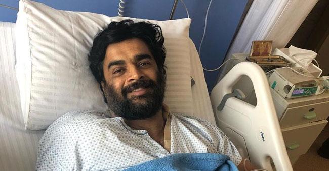 Madhavan injured; five months bed rest!