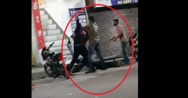 Law Student lynched in a chair fight