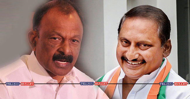 Kiran's entry results in Raghuveera's exit from Congress?