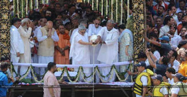 A perfect tribute to Vajpayee: His Ashes in 100 Rivers