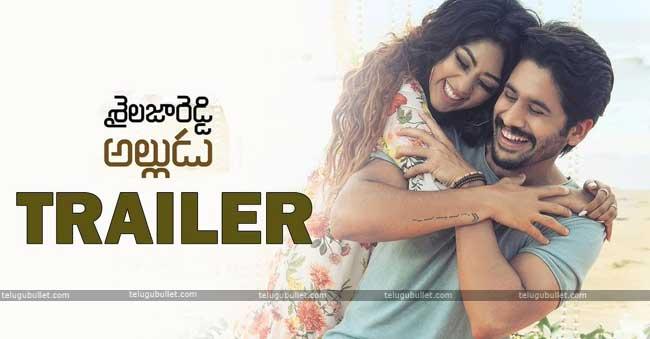 """Sailaja Reddy Alludu"" Has Arrived @Trailer"