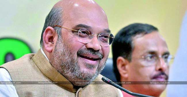 Amit Shah Supports KCR