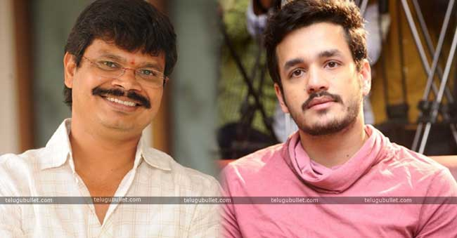 Akhil Next Film With Mass Director