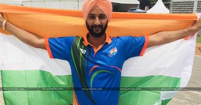 Archer Harinder Singh Wins Gold In Para Games