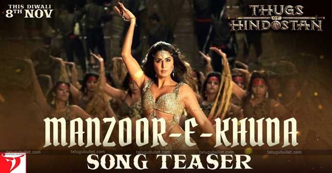 #Thugs Of Hindostan Update: Katrina's Third Song Is Breathtaking