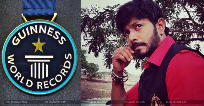 Kaushal Manda Into Guinness World Records