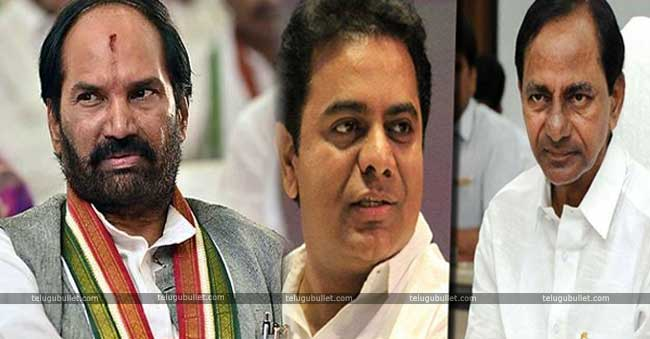 Uttam Launched A Full-Fledged Attack On KCR's Family