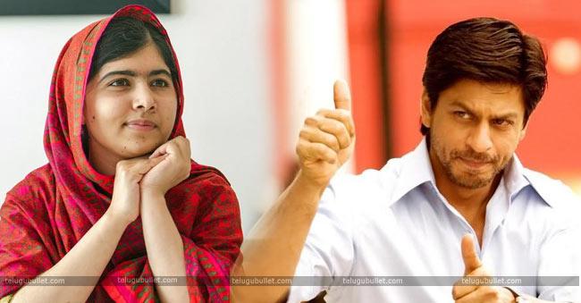 Bollywood Don Sharukh Khan Resonded To Malala Tweet