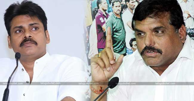 Botsa denied the allegation of Jagan and Pawan's meet