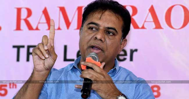 KCR Is The CM For 15 Years – KTR Predicts