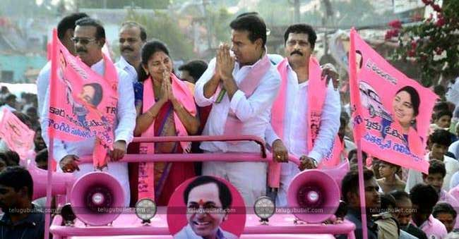 Congress Party Did Nothing For Farmers – KTR